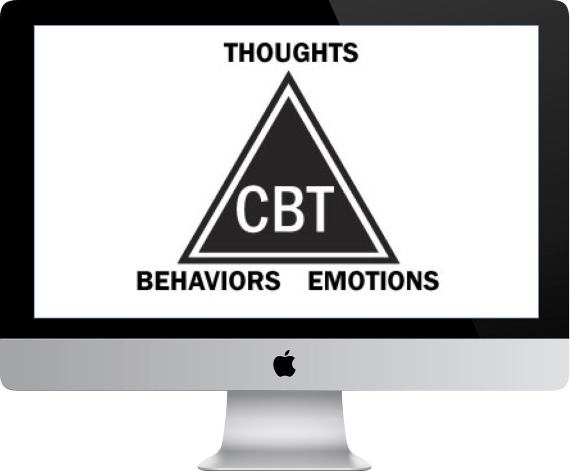 CBT Therapy on Computer